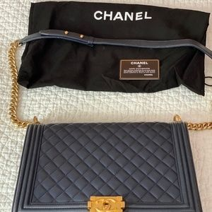 CHANEL Bags - X-Large Boy Bag Pristine Condition